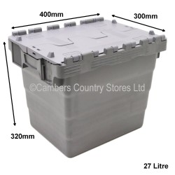 Attached Lid Storage Box 40cm