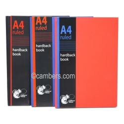 A4 Ruled Hardback Note Book