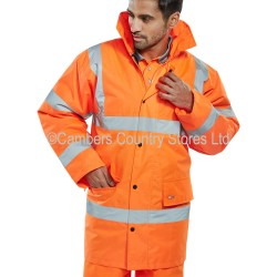 B Seen Hi-Vis Constructor Traffic Jacket