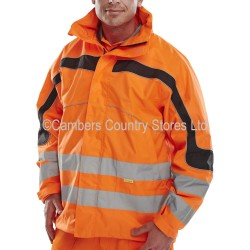 B Seen Hi-Vis Eton Breathable Jacket