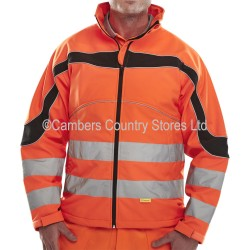 B Seen Hi-Vis Eton Soft Shell Jacket