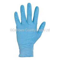 Click Disposable Nitrile Gloves Powder Free x 100