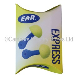 3M Ear Express Ear Plugs 1 Pair