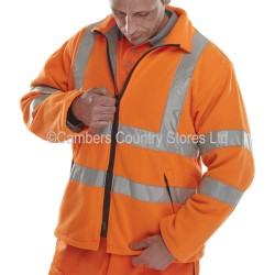 B Seen Hi-Vis Fleece Jacket