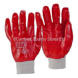 PVC Knitted Wrist Gloves