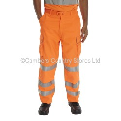 B Seen Hi-Vis Polycotton Trousers