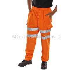 B Seen Hi-Vis Jogging Bottoms