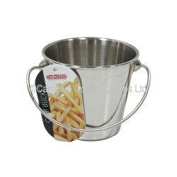 Apollo Chip Serving Bucket Stainless Steel
