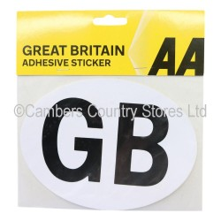 AA Great Britain Badge Self Adhesive