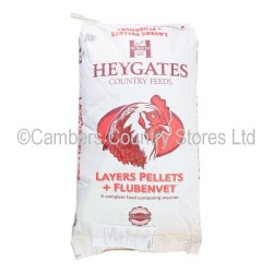 Heygates Layers Pellets With Flubenvet 20kg