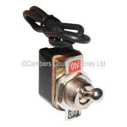 Auto Type Toggle Switch On / Off Metal Dolly