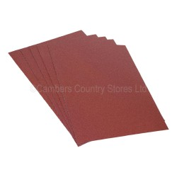 Addax Sandpaper Sheets 5 Pack