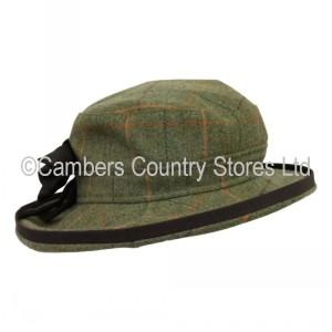 Alan Paine Combrook Ladies Tweed Hat