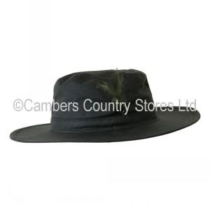 Hoggs Of Fife Waxed Aussie Hat  5abaf19233b1