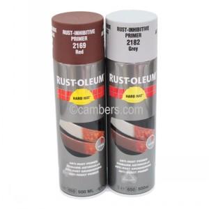 Rustoleum Anti Rust Primer Spray Paint 500ml | Cambers
